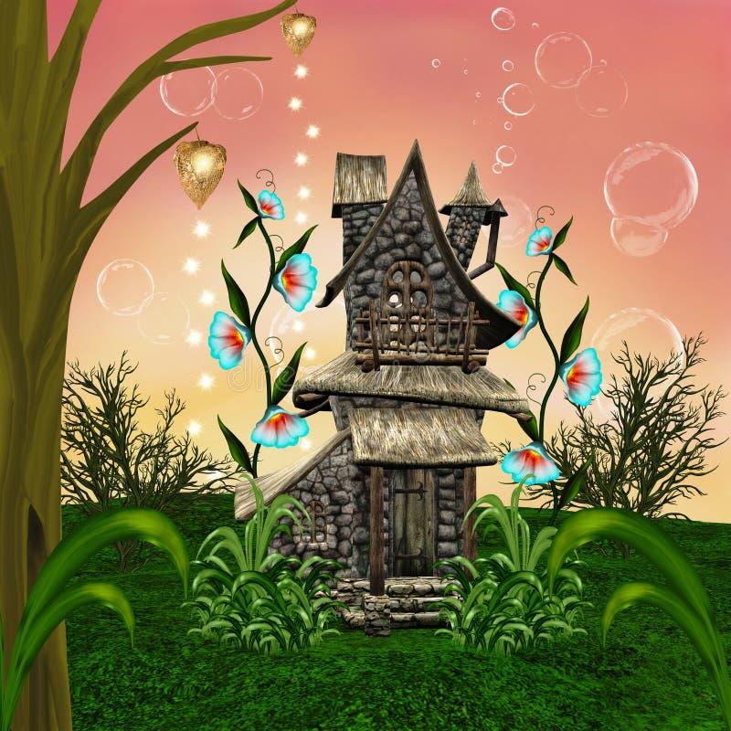 Casa del cuento de hadas libre illustration