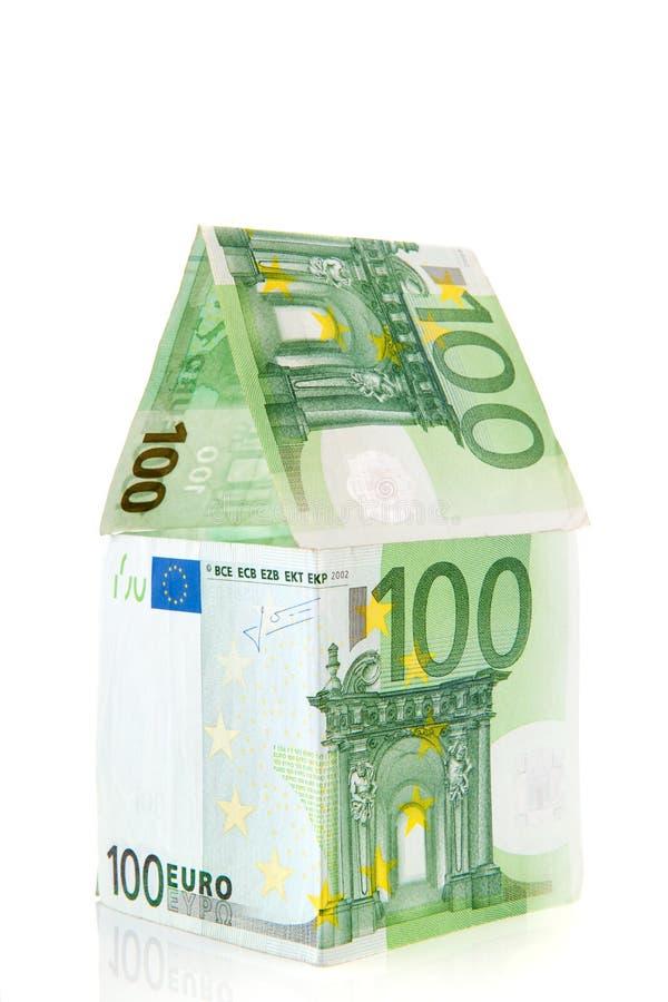 Casa del dinero en Europa foto de archivo