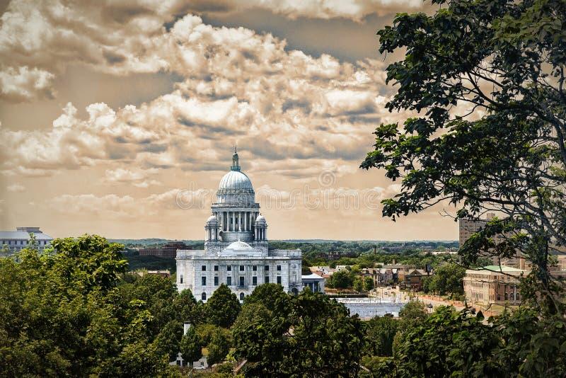 Casa del estado foto de archivo libre de regalías