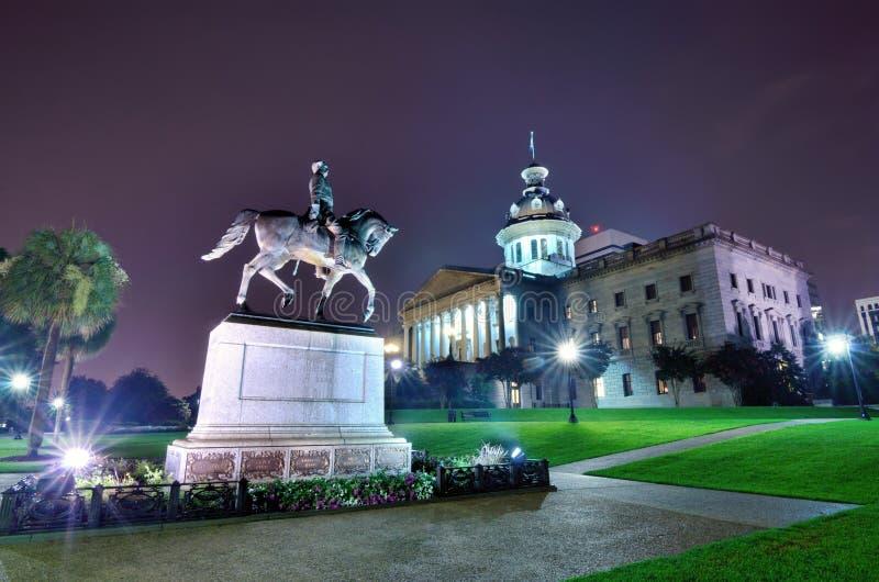 Casa del estado de Carolina del Sur fotografía de archivo