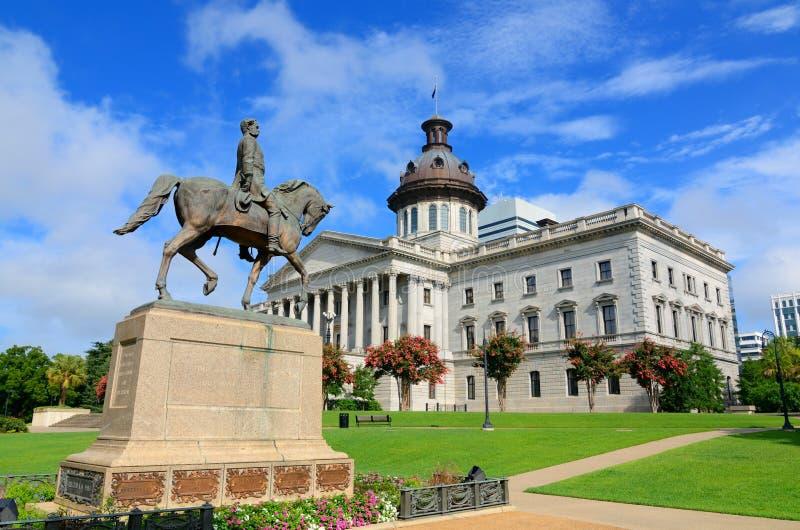 Casa del estado de Carolina del Sur imágenes de archivo libres de regalías