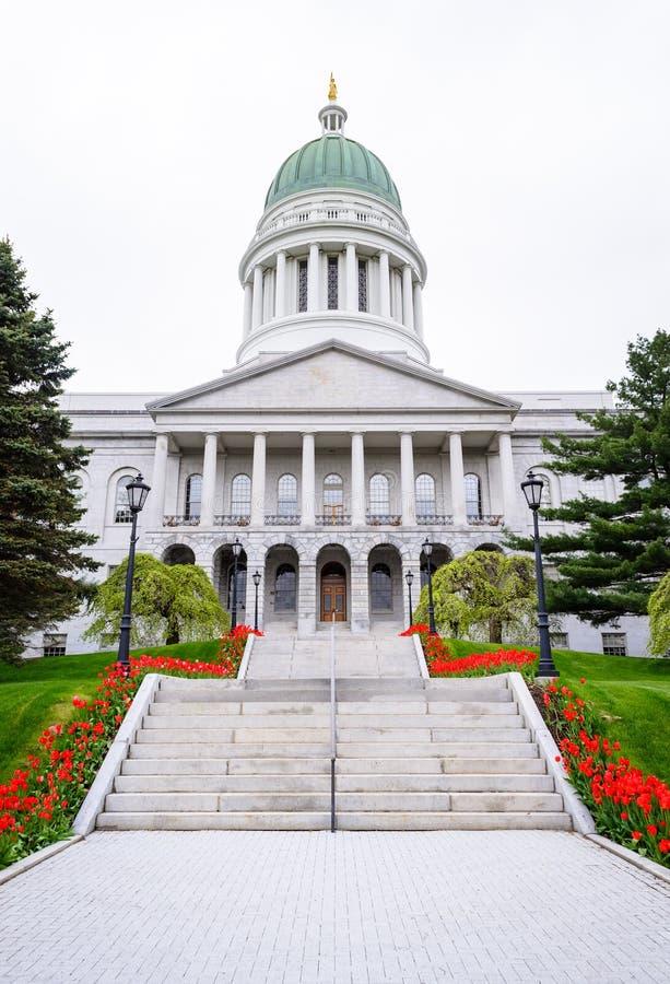 Casa del estado de Maine imágenes de archivo libres de regalías