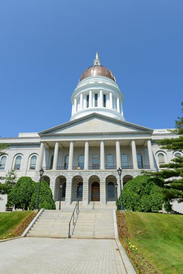 Casa del estado de Maine, Augusta imagen de archivo libre de regalías