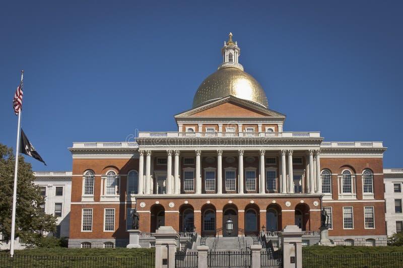 Casa del estado de Massachusetts imagen de archivo libre de regalías