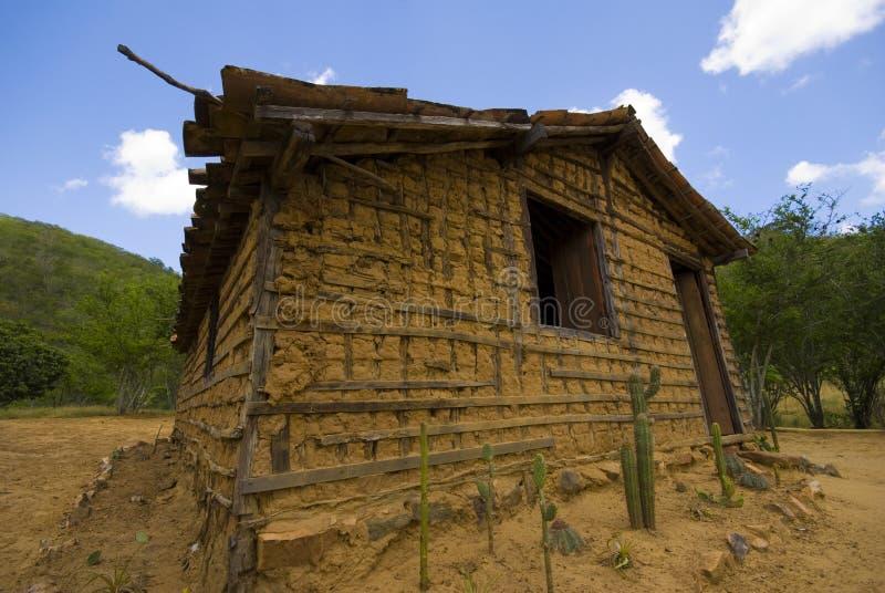 Casa del fango foto de archivo libre de regalías