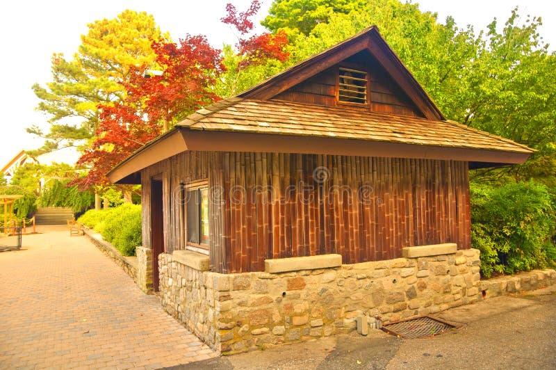 Casa del giardino immagini stock libere da diritti