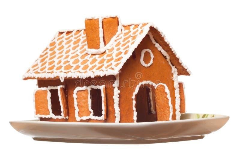 Casa del gingernut di natale fotografie stock
