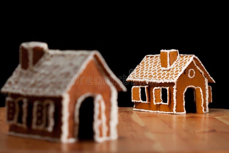 Casa del gingernut di natale fotografia stock