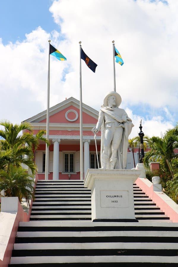 Casa del gobierno en Nassau fotos de archivo libres de regalías