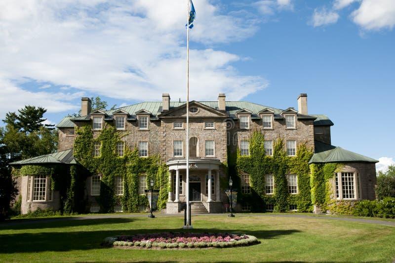 Casa del gobierno - Fredericton - Canadá fotos de archivo libres de regalías