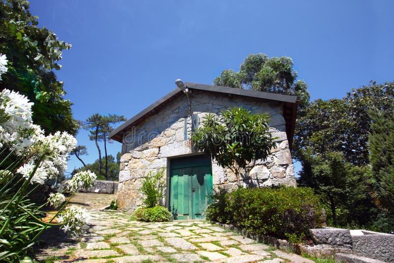 Casa del granito foto de archivo