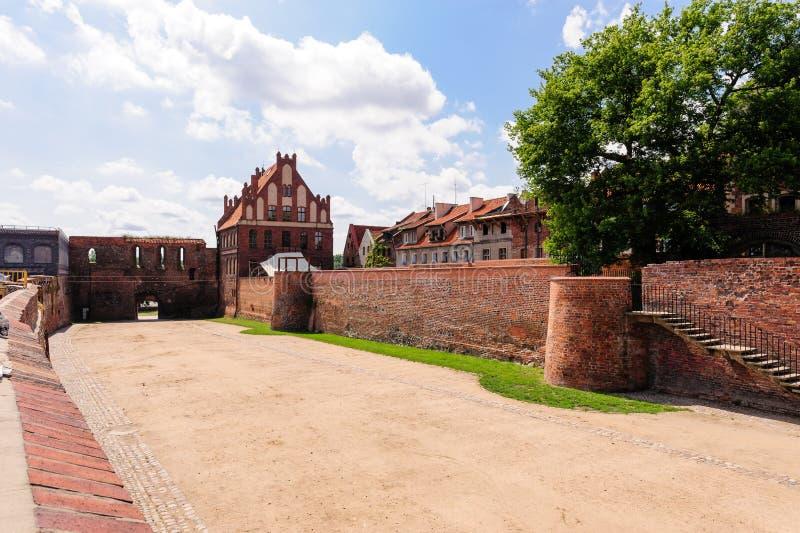 Casa del gremio de Torun St George foto de archivo libre de regalías