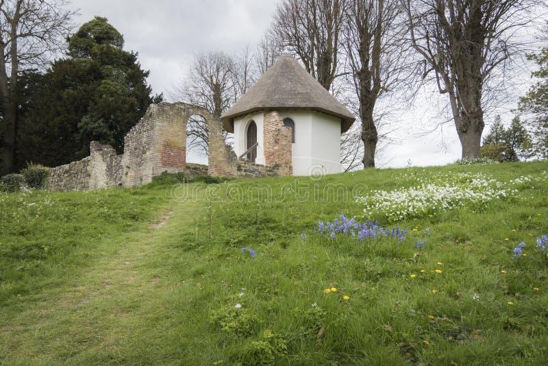 Casa del hielo, abadía de la batalla, Sussex, Inglaterra, Reino Unido fotos de archivo