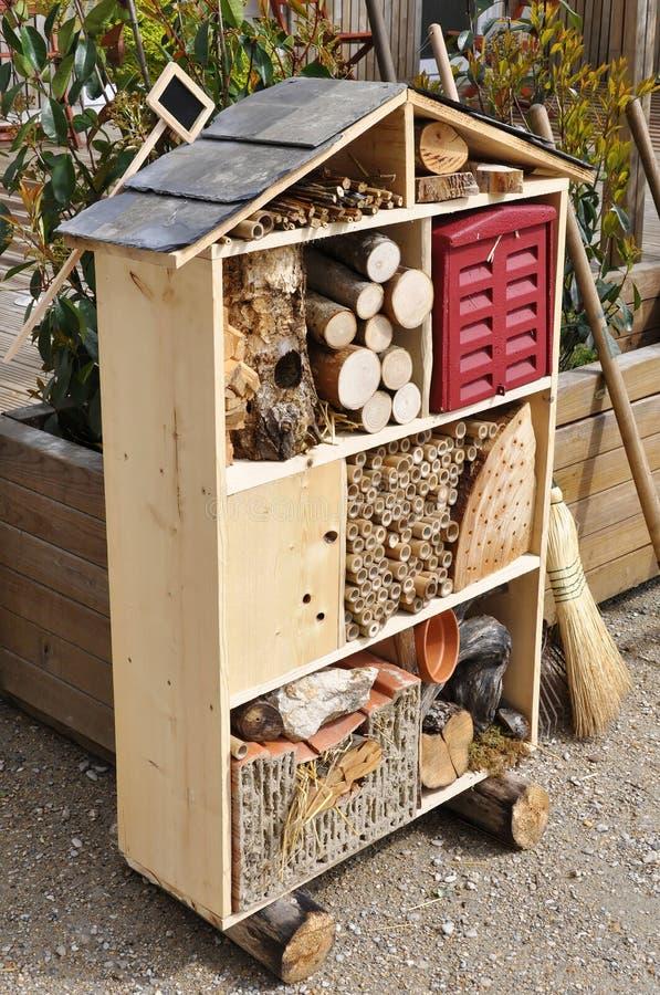 Casa del insecto fotos de archivo libres de regalías