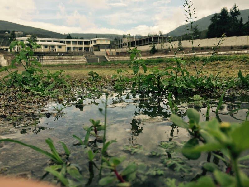 Casa del lago imagenes de archivo