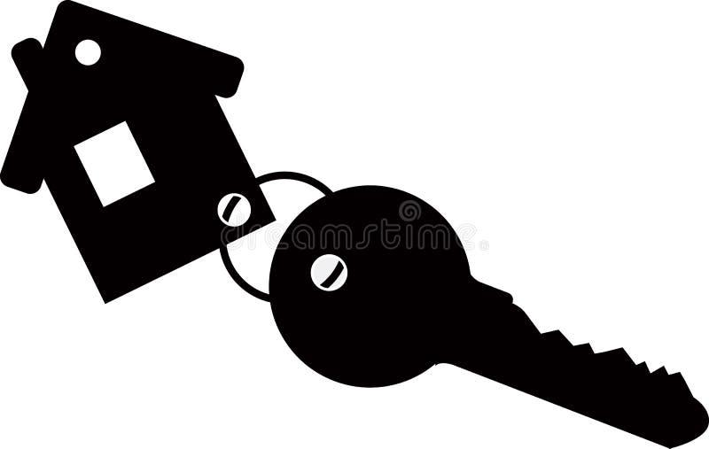Casa del llavero con llave libre illustration