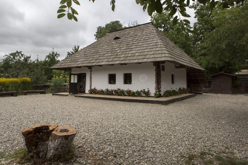 Casa del monumento de Ion Creanga imagenes de archivo