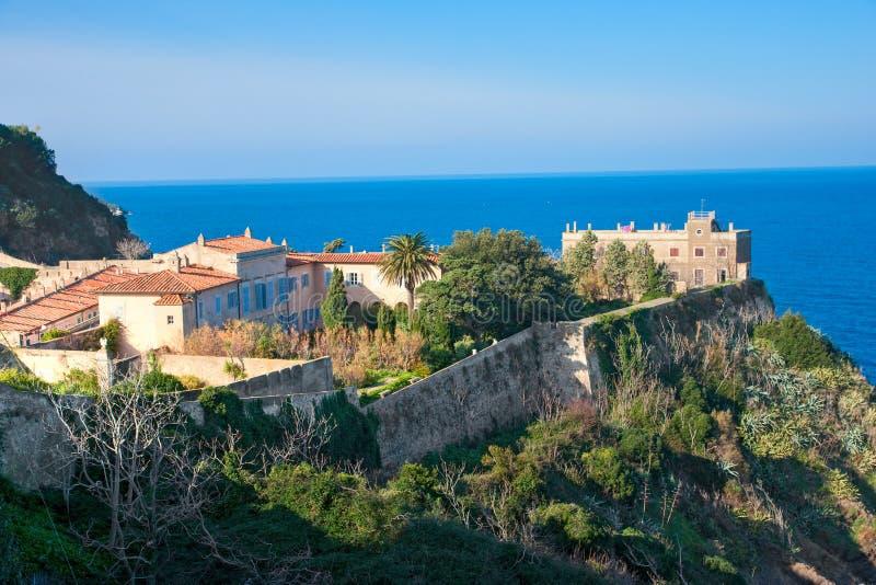 Casa del Napoleon in portoferraio, isola di Elba. fotografia stock