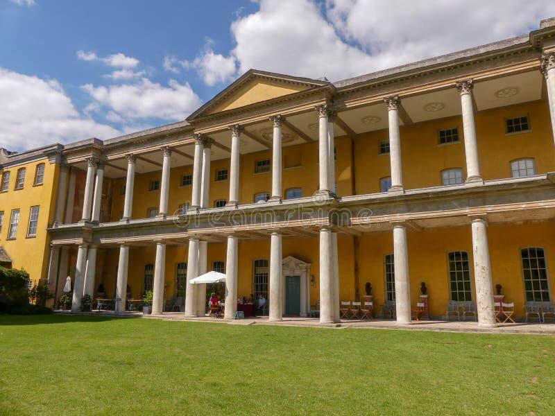 Casa del oeste de Wycombe, el hogar elegante de Palladian de la familia de Dashwood fotografía de archivo
