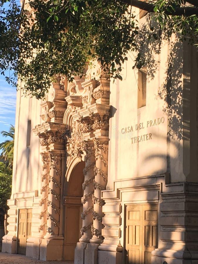 Casa Del Prado photographie stock