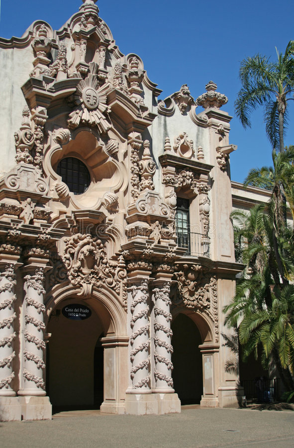 casa Del Prado. obraz royalty free