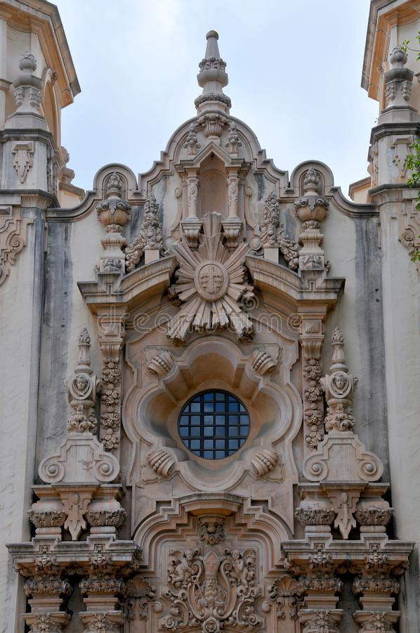 Casa del Prado Theater bij Balboapark in San Diego California royalty-vrije stock foto