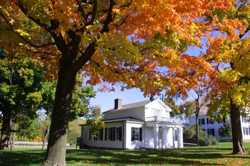 Casa del Robert Frost immagini stock