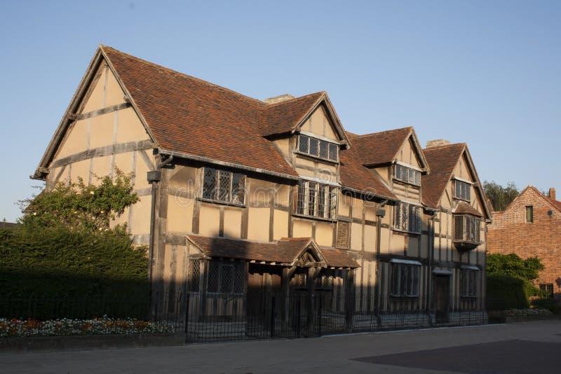 Casa del ` s di Shakespeare immagini stock libere da diritti