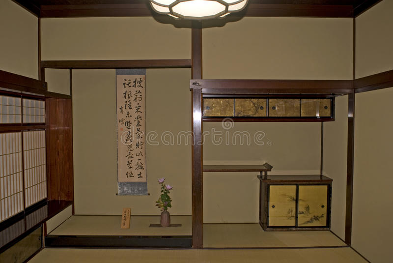 Casa del samurai, Kanazawa, Giappone fotografie stock