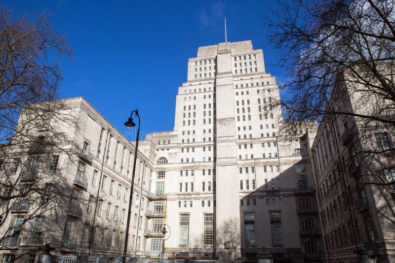 Casa del senado en Londres fotografía de archivo