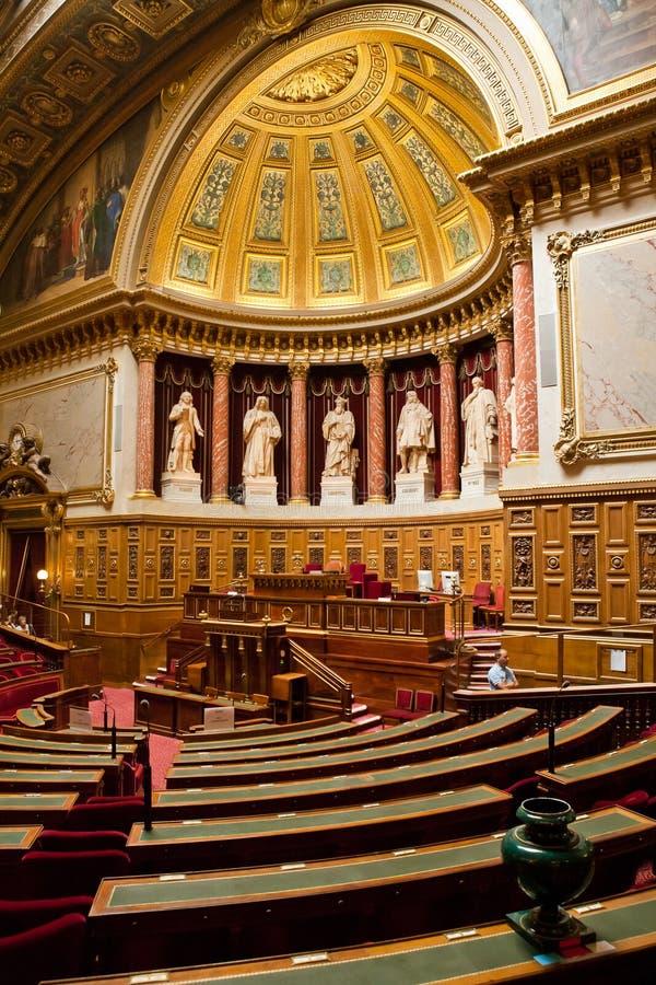Casa del senado, París fotografía de archivo libre de regalías
