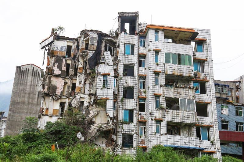 Casa del terremoto imagen de archivo libre de regalías