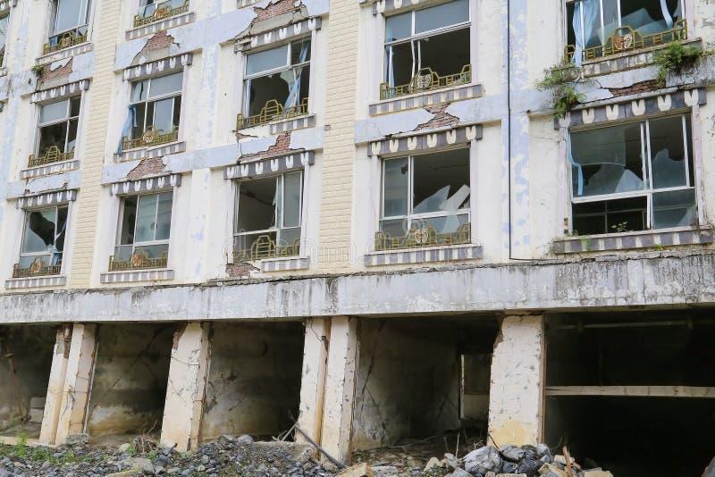 Casa del terremoto fotos de archivo libres de regalías