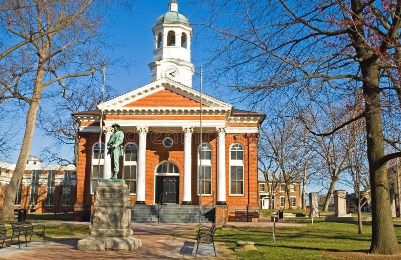 Casa del Tribunal del Condado imagen de archivo libre de regalías