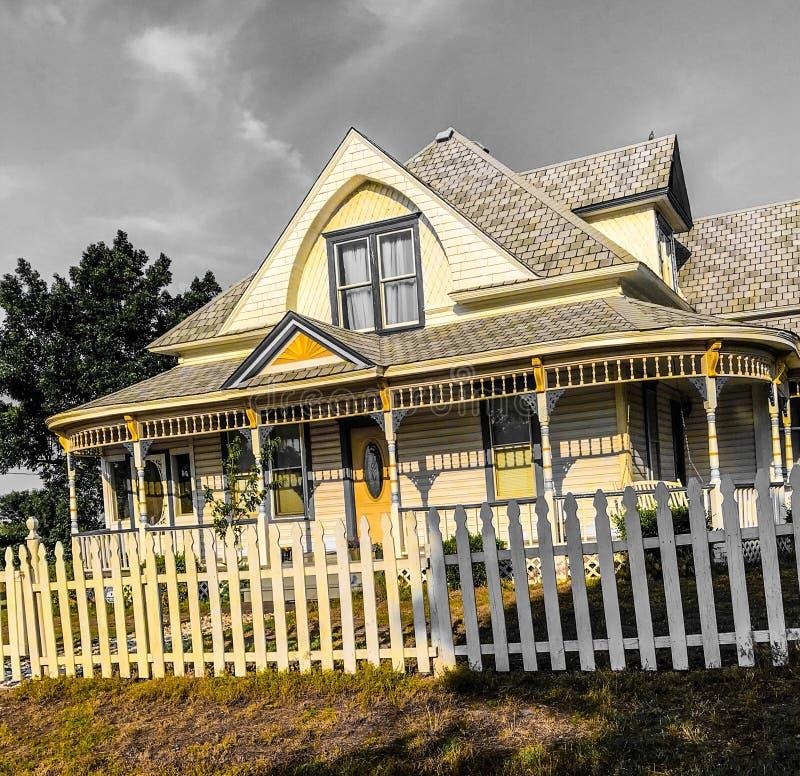 Casa del Victorian foto de archivo libre de regalías