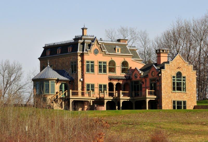 Casa del Victorian imagen de archivo