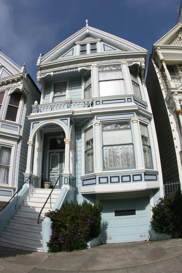 Casa del Victorian en San Fransisco fotografía de archivo