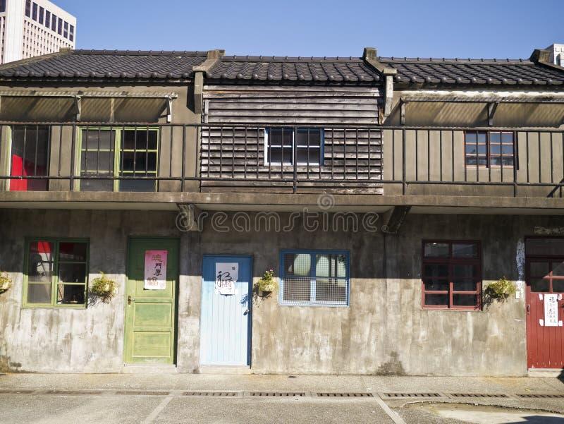 Casa dell'abitante di Taiwan di tradizione fotografia stock libera da diritti