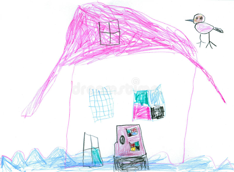 Casa dell'acqua illustrazione di stock