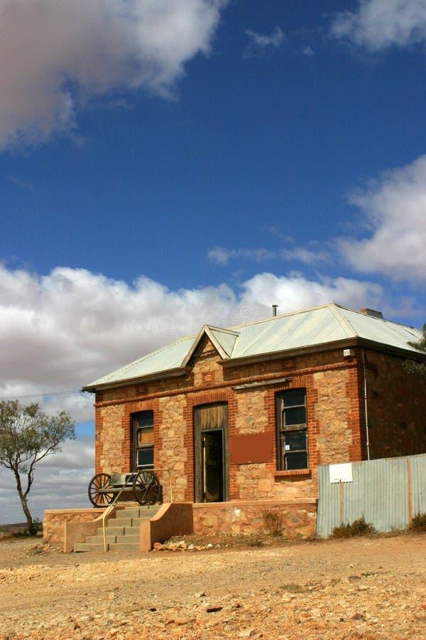 Casa dell'australiano outback - fotografie stock