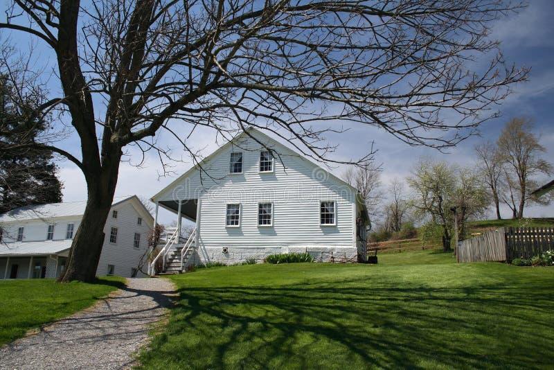 Casa dell'azienda agricola immagini stock libere da diritti