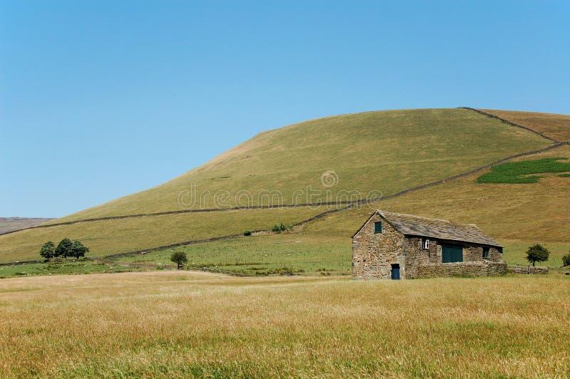 Casa dell'azienda agricola in Edale immagine stock libera da diritti