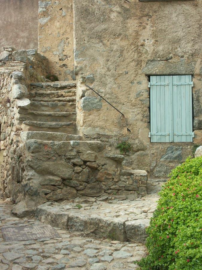Casa della CORSICA fotografia stock