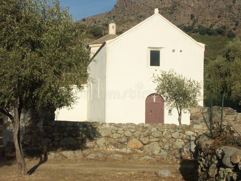 Casa della CORSICA fotografie stock libere da diritti