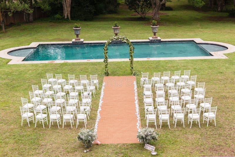 Casa della decorazione di nozze immagini stock libere da diritti