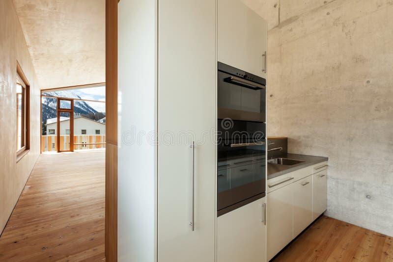 Casa Della Montagna, Cucina Immagine Stock - Immagine di stile ...