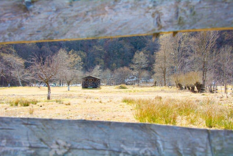 Casa della natura fotografia stock
