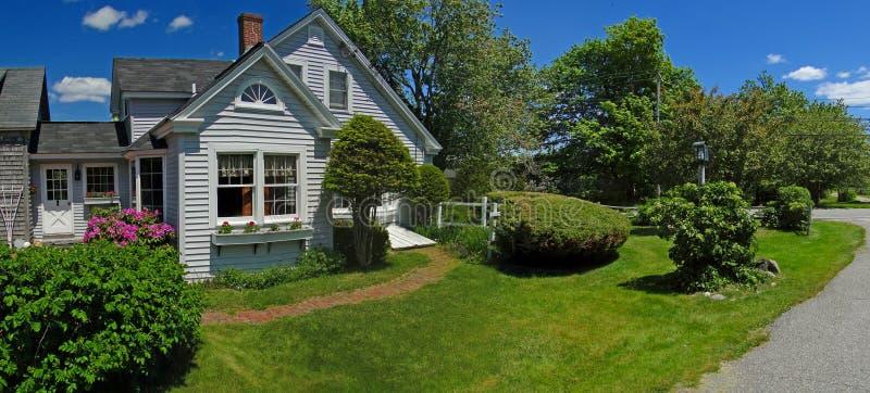 Casa della Nuova Inghilterra immagini stock
