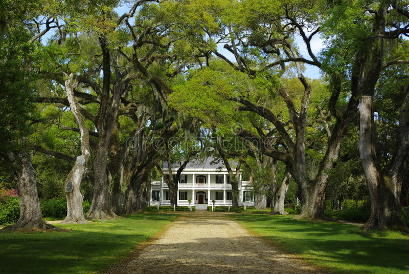 Casa della piantagione di Rosedown immagine stock libera da diritti