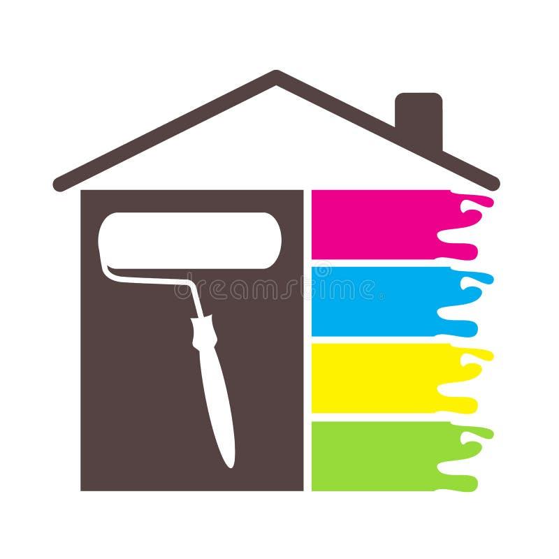 Casa della pittura di progettazione illustrazione for Software di progettazione di costruzione di case gratuito